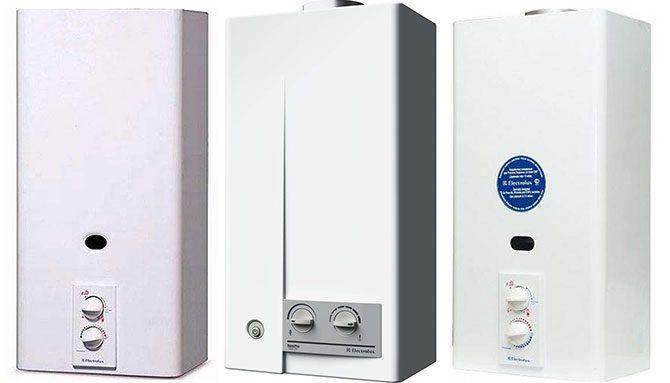 Сервис газовых колонок электролюкс